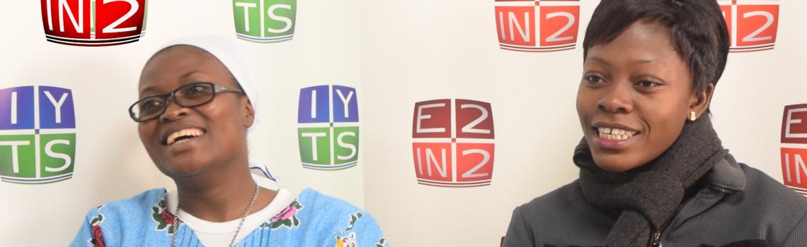 Las estudiantes beninesas del IYTS visitan E2IN2